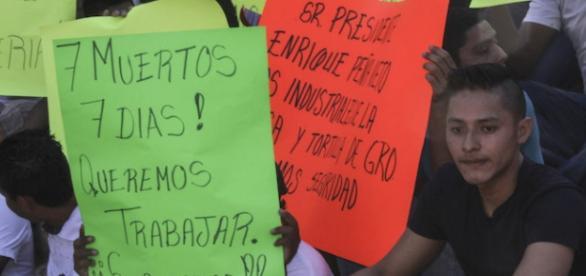 movimiento social en acapulco contra la violencia