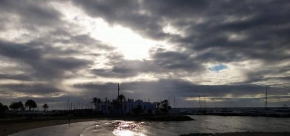 Amanecer de invierno en Marbella
