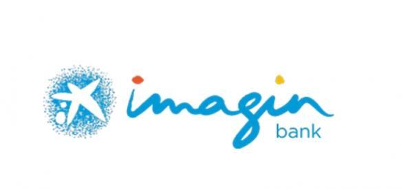 logotipo de imaginbank de Caixabank