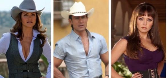 Lucero, Fernando Colunga e Gabriela Spanic