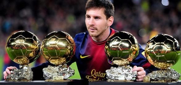 Messi ganha Bola de Ouro 2015 pela quinta vez