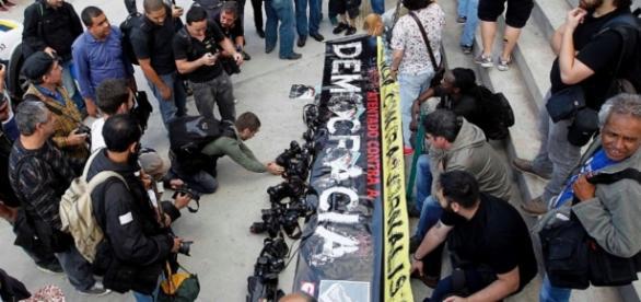 Protesto realizado em 2013 - Imagem: Google