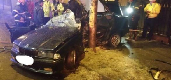Tanar mort in urma unui cumplit accident rutier