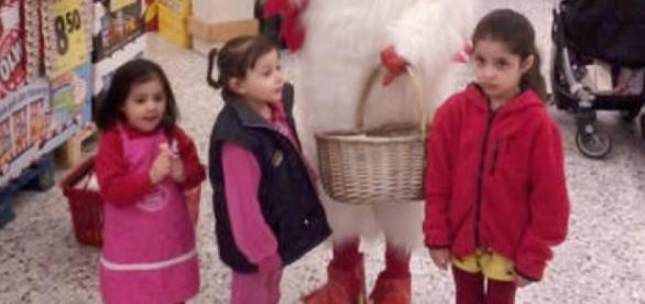 Trei din copiii familiei Radulescu