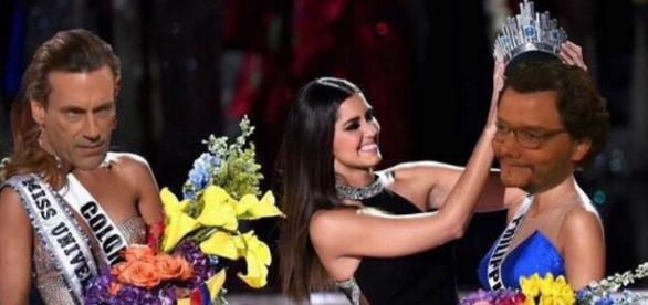 Wagner foi comparado à Miss Universo
