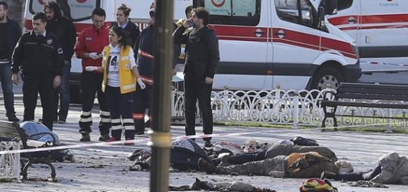 Ataque terrorista na Turquia deixa mortos