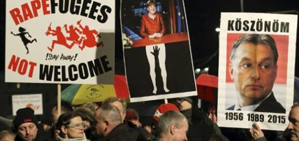Demonstracje antyimigranckie w Niemczech