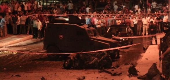 Foto del atentado de julio en Estambul