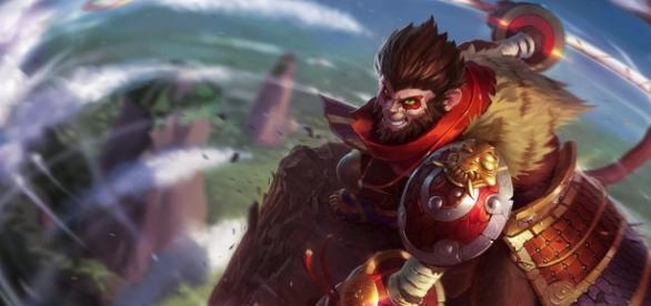 Imagen de Sun Wukong en el juego