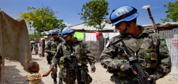Soldados a serviço da ONU envolvidos em escândalo