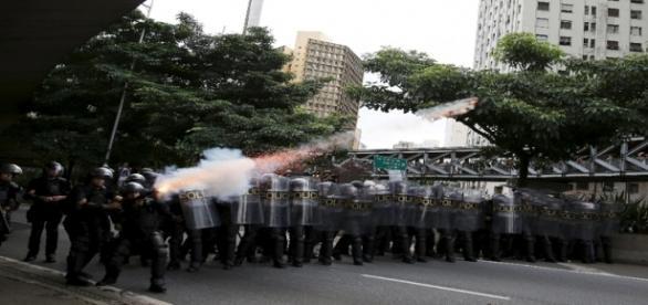 Ação policial foi questionada pelo MPL