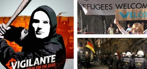 """""""Escadroanele vigilante"""" se răspândesc în Europa"""