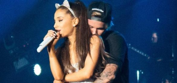 Justin deixou comentário no Instagram de Ariana
