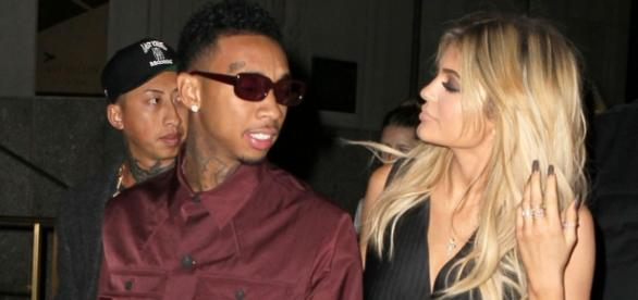 Kylie estaria tentando se afastar do rapper.