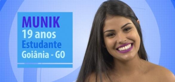 Munik e Maria Claudia são as mais novas do BBB16