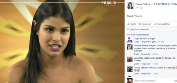 Munik - Foto/Reprodução: TV Globo