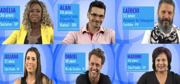 Participantes do BBB 16 (Reprodução/Globo)