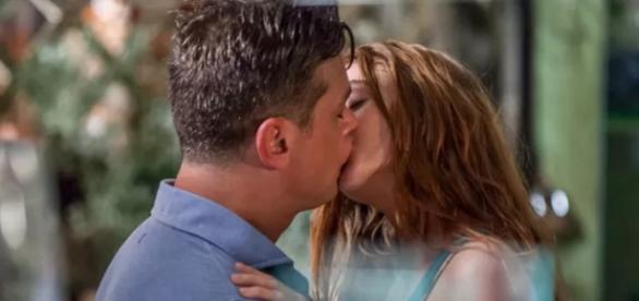 Arthur e Eliza - Foto/Reprodução: TV Globo