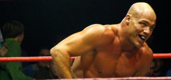 WWE's Kurt Angle [via: flickr.com/ilovehoovering]