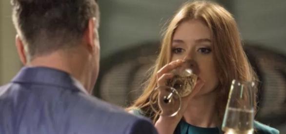 Eliza fica bêbada - Foto/Reprodução: TV Globo