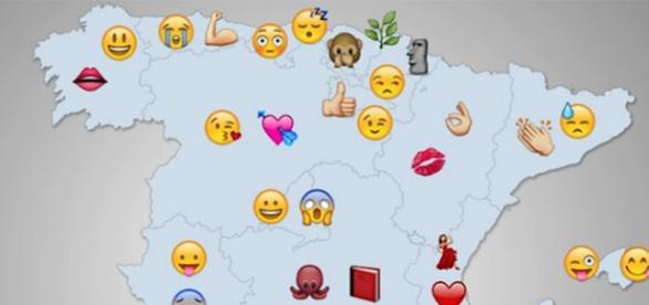 Emojis más usados en España en Whatsapp