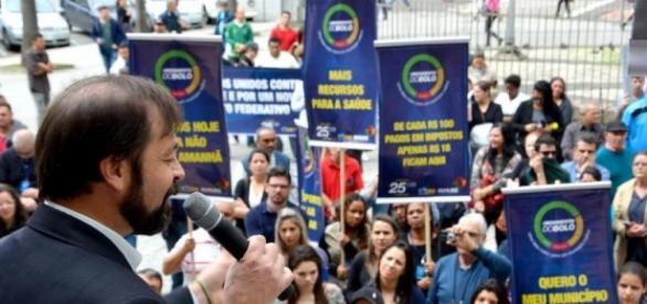 Luiz Folador, o 'Patinho Feio' (Foto Rádio Guaíba)