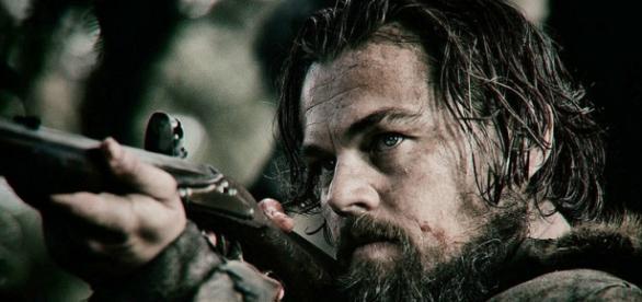 Leo DiCaprio no papel do explorador Hugh Glass.
