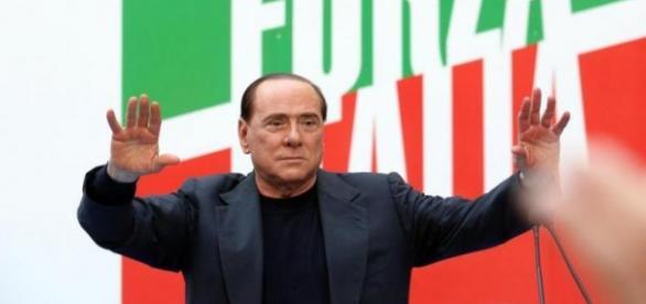 Silvio Berlusconi leader di Forza Italia.