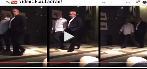 Video: E ai ladrão, hospede ofende Lula