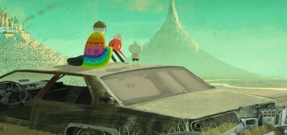 """Cena da animação """"O Menino e o Mundo"""""""