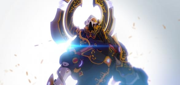 Duelyst - generał frakcji Vetruvian