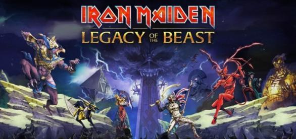 Imagen promocional del juego de lron Maiden