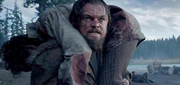 """Leonardo DiCaprio em """"O Regresso"""""""