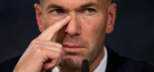 Zidane demonstrou irritação com jornalistas