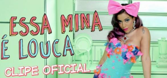 Anitta em novo vídeo clipe. foto: divulgação