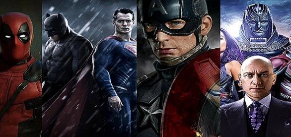 'Civil War', 'X-Men' y 'Dawn of Justice'