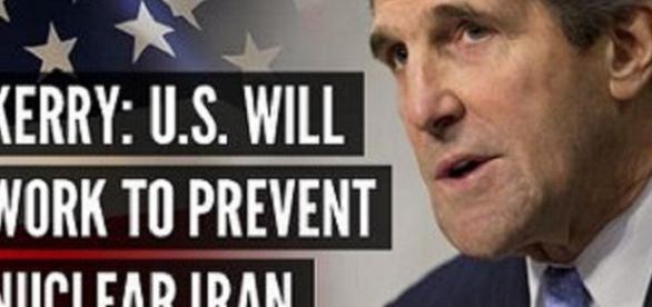 """Declarações de John Kerry sobre o """"Irão nuclear"""""""