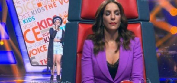 Ivete no The Voice - Foto/Reprodução: Globo