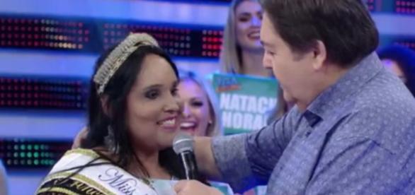 Miss Plus Sive - Foto/Reprodução: Globo