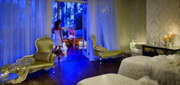Oceanfront Couple Villa at the Eau