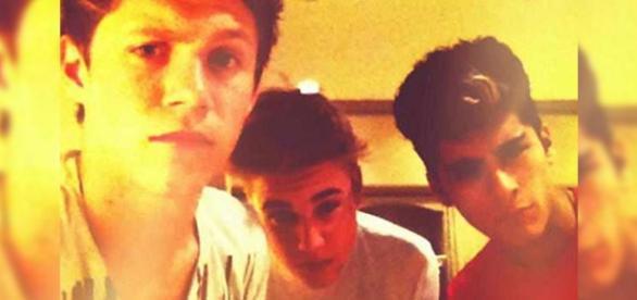 Justin Bieber e Zayn (Divulgação: Twitter)