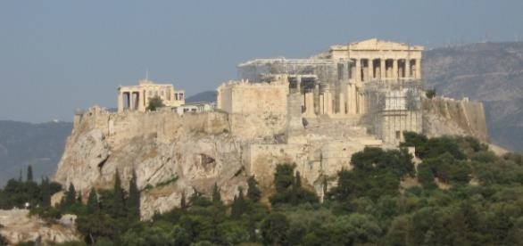 Acrópole de Atenas (fonte: Dzenanz Wikimedia)