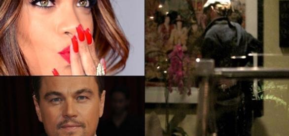 Foto sugere beijo de Rihanna e Leonardo DiCaprio