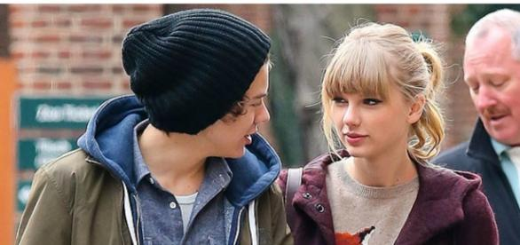 Harry Styles e Taylor Swift em 2012