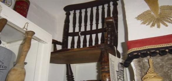 La silla original de Thomas Busby