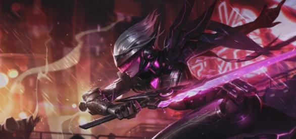 PROYECTO: Fiora, aspecto de League of Legends.