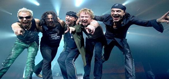 "Scorpions en el ""50th Anniversary World Tour"""