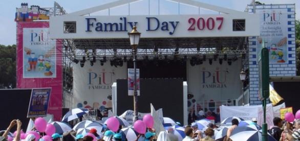 Un frame di un Family Day del 2007