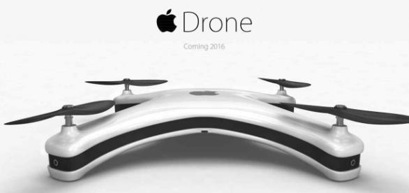 Un prototipo de Apple acerca de cómo será su dron.