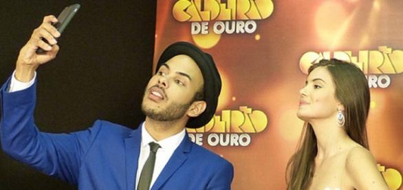 Camila Queiroz no 'Caldeirão de Ouro'